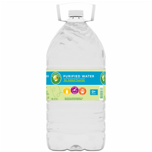 Comforts™ Purified Water Perspective: back