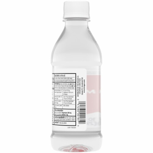 Kroger® Cherry Flavor Magnesium Citrate Saline Laxative Perspective: back