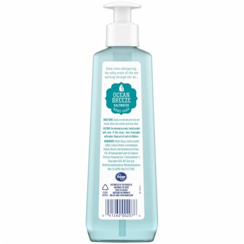 Kroger® Ocean Breeze Saltwater Hand Soap Perspective: back