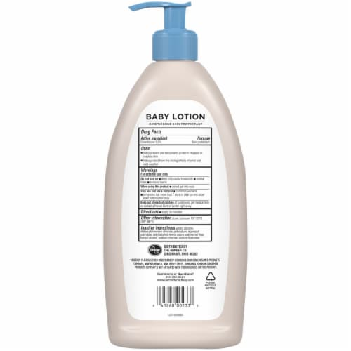 Comforts® Oatmeal Baby Lotion Perspective: back
