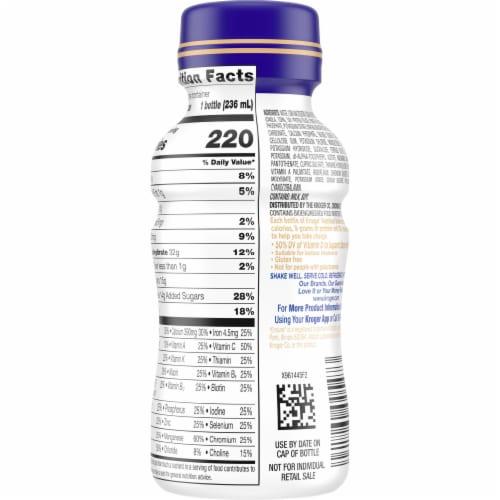 Kroger® Fortify Original Vanilla Nutrition Shake Perspective: back