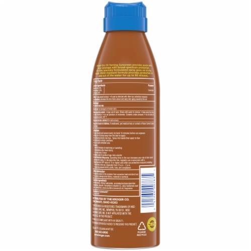 Kroger® Dry Oil Tanning Sunscreen Spray Broad Spectrum SPF 15 Perspective: back
