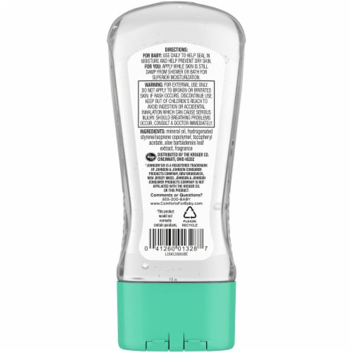 Comforts® Baby Oil Gel Perspective: back
