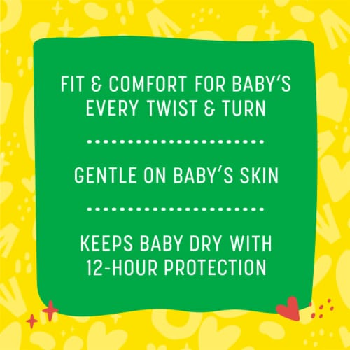 Comforts™ Size 2 Day or Night Diapers Perspective: back