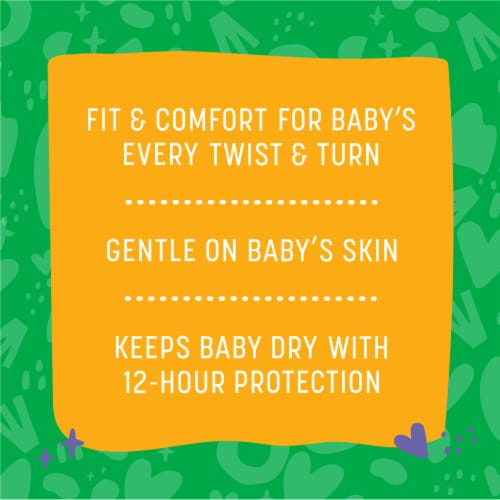 Comforts™ Size 5 Day or Night Diapers Perspective: back