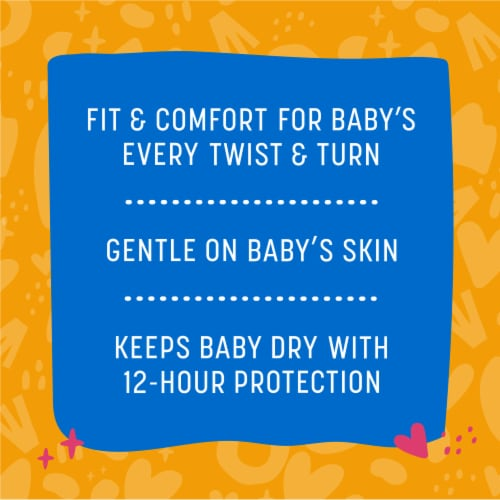 Comforts™ Size 7 Day or Night Diapers Perspective: back