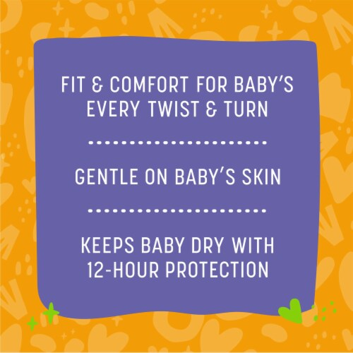 Comforts™ Size 6 Day or Night Diapers Value Box Perspective: back