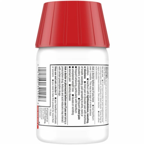 Kroger® Dual Action Complete Berry Acid Reducer & Antacid Chewable Tablets Perspective: back