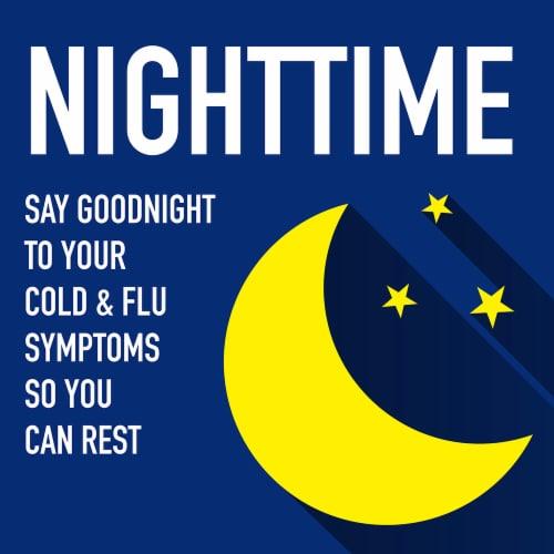 Kroger® Nighttime Cold & Flu Relief Liquid Perspective: back