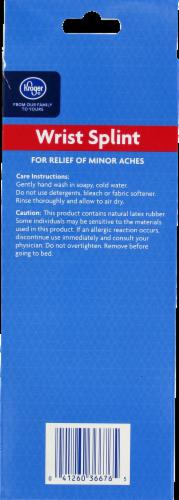 Kroger®  Adjustable Wrist Splint Perspective: back