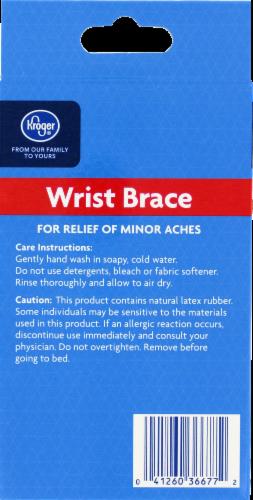 Kroger® Adjustable Wrist Support Perspective: back