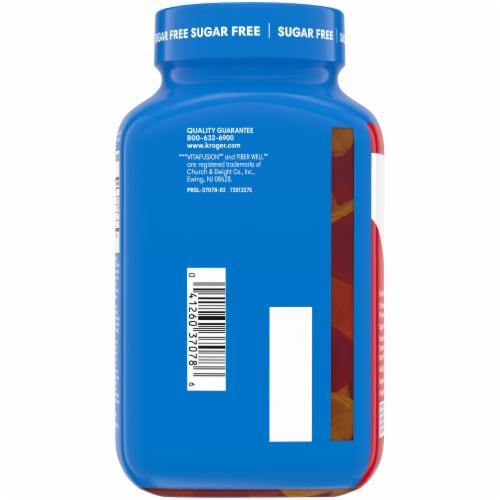 Kroger® Sugar Free Fiber Gummies Perspective: back