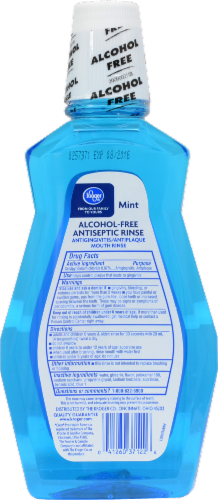 Kroger® Alcohol-Free Mint Antiseptic Mouth Rinse Perspective: back
