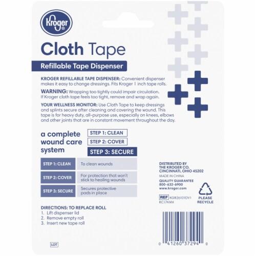 Kroger® Cloth Tape Dispenser Perspective: back