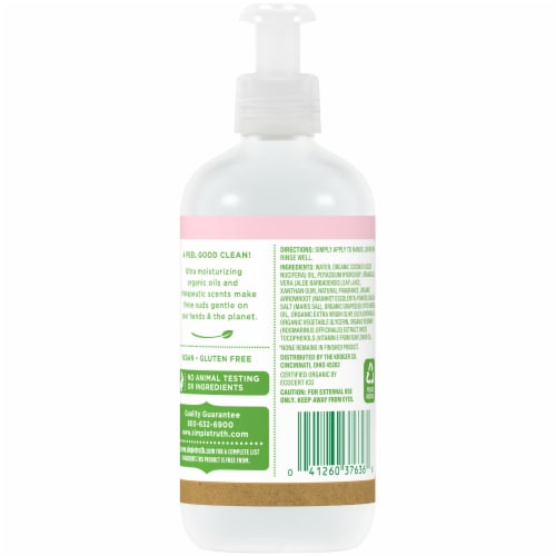 Simple Truth™ Sweet Olive Blossom Hand Soap Perspective: back