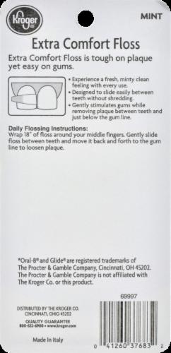 Kroger®  Mint Extra Comfort Floss Perspective: back