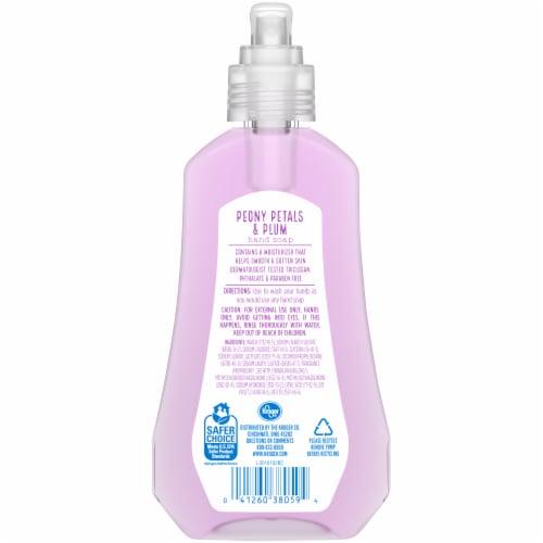 Kroger® Peony Petals & Plum Hand Soap Perspective: back