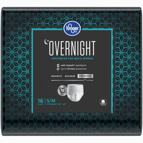 Kroger® S/M Unisex Overnight Incontinence Underwear Perspective: back