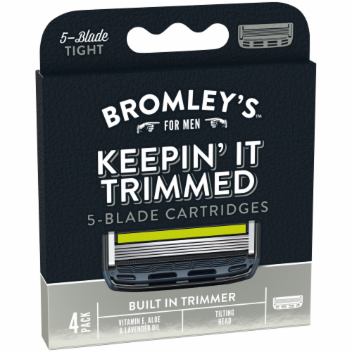 Bromley's™ For Men Keepin' It Trimmed 5-Blade Cartridges Perspective: back