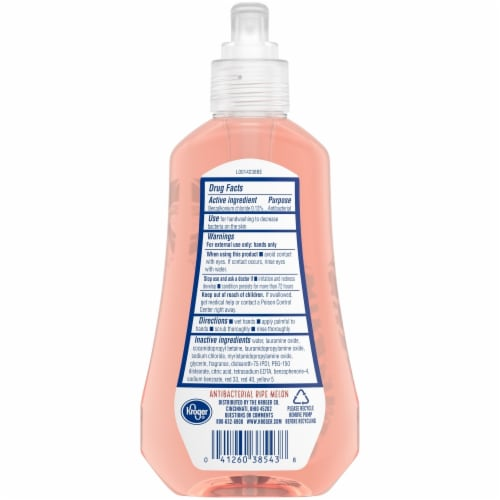 Kroger® Antibacterial Ripe Melon Hand Soap Perspective: back