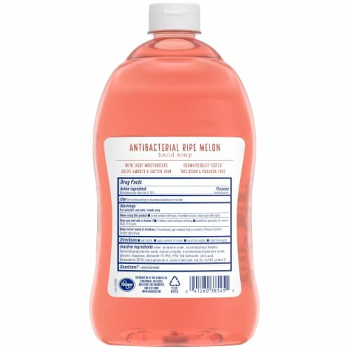 Kroger® Antibacterial Ripe Melon Hand Soap Perspective: back