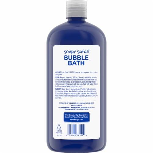 Kroger® Soapy Safari Grape Scented Bubble Bath Perspective: back