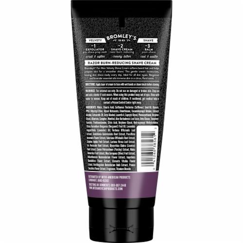 Bromley's™ For Men Bergamot Lavender Velvety Shave Cream Perspective: back