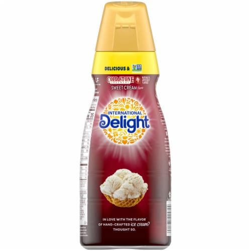 International Delight ® Cold Stone Sweet Cream Coffee Creamer Perspective: back