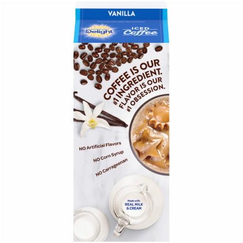 International Delight Vanilla Iced Coffee Perspective: back