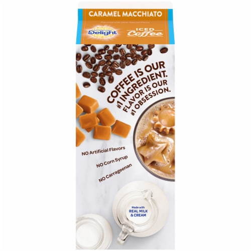 International Delight Caramel Macchiato Iced Coffee Perspective: back