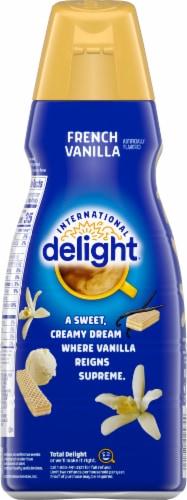 International Delight French Vanilla Coffee Creamer Perspective: back