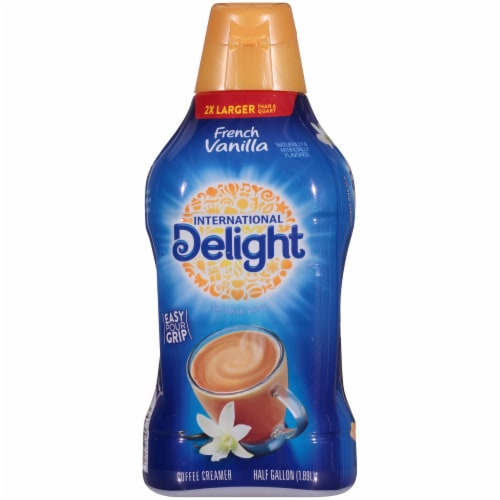 International Delight French Vanilla Coffee Creamer Perspective: back