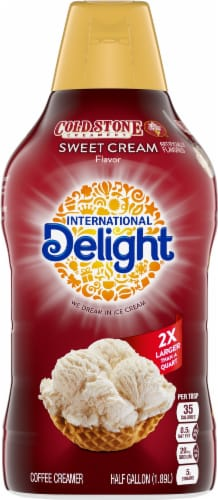 International Delight Cold Stone Sweet Cream Coffee Creamer Perspective: back