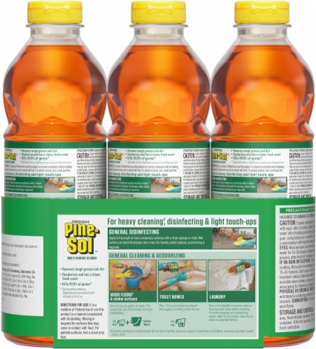 Pine-Sol Original Multi-Surface Cleaner Perspective: back