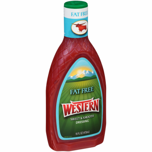 Western Fat Free Sweet & Smooth Dressing Perspective: back