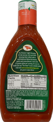 Western Light Sweet & Smooth French Dressing Perspective: back