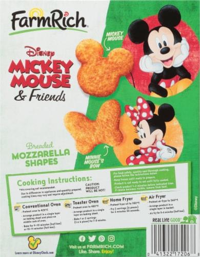 Farm Rich Disney Breaded Mozzarella Shapes Perspective: back