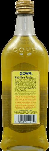 Goya Extra Virgin Olive Oil Perspective: back