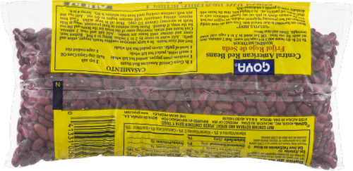 Goya Central American Red Beans Perspective: back