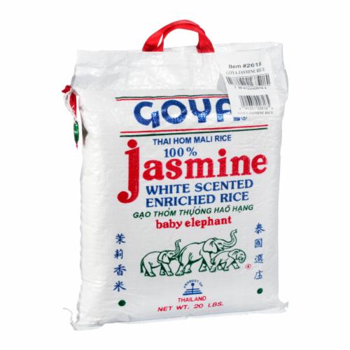 Goya Jasmine Rice Perspective: back