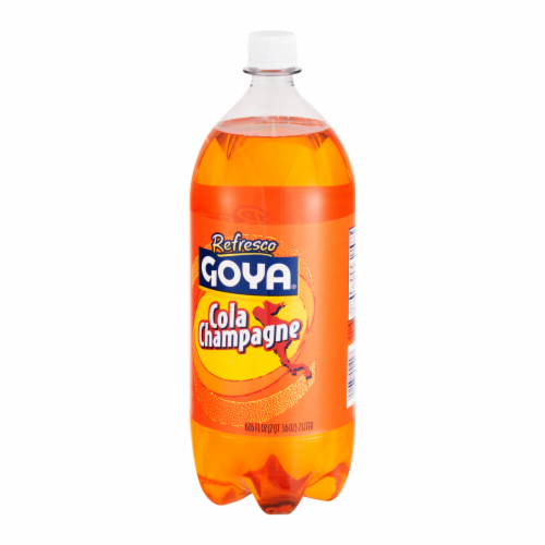 Goya Refresco Cola Champagne Perspective: back