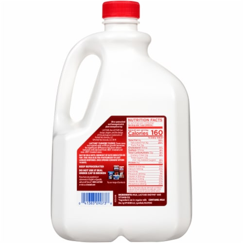 Lactaid 100% Lactose Free Whole Milk Perspective: back