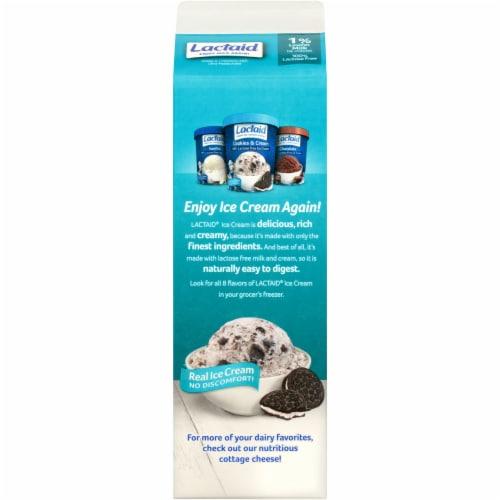 Lactaid 100% Lactose Free 1% Lowfat Milk Perspective: back
