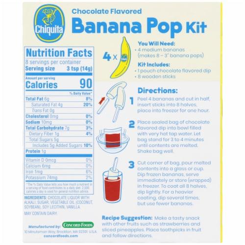 Chiquita Banana Pop Kit Perspective: back