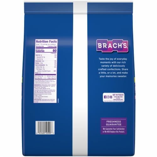 Brach's® Star Brites Mega Pack Peppermint Candy Perspective: back
