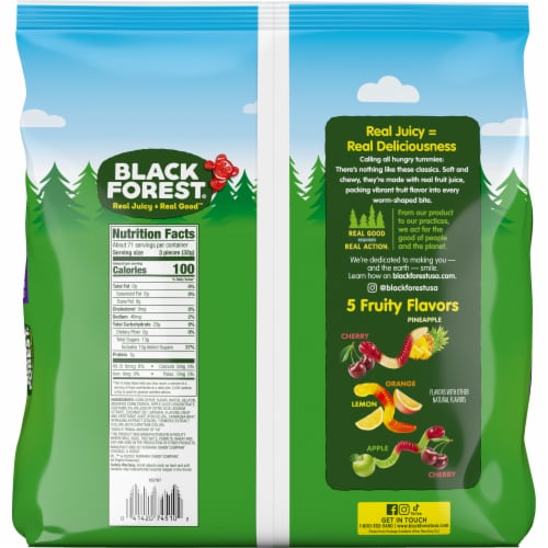 Black Forest Gummy Worms Perspective: back