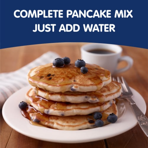 Krusteaz Blueberry Complete Pancake Mix Perspective: back