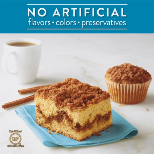 Krusteaz Gluten Free Cinnamon Swirl Crumb Cake and Muffin Mix Perspective: back