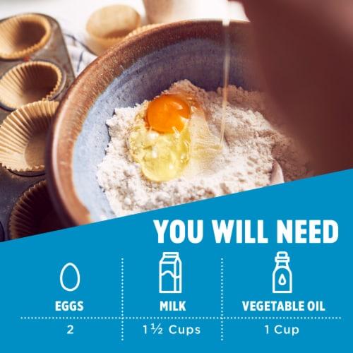 Krusteaz Gluten Free Chocolate Cake Mix Perspective: back