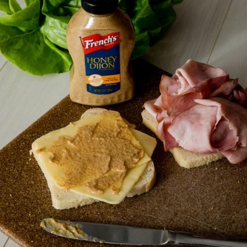 French's Honey Dijon Mustard Perspective: back